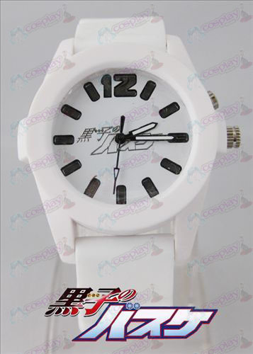 kuroko's Basketball Accessories colorful flashing lights Watch - White