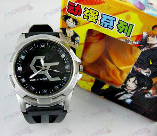 Guilty Crown Accessories Scale Watch - Black