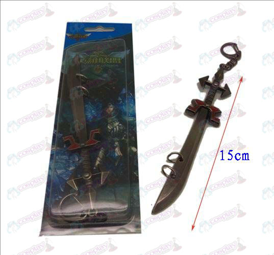 League of Legends Accessories knife buckle 4 (gun color)