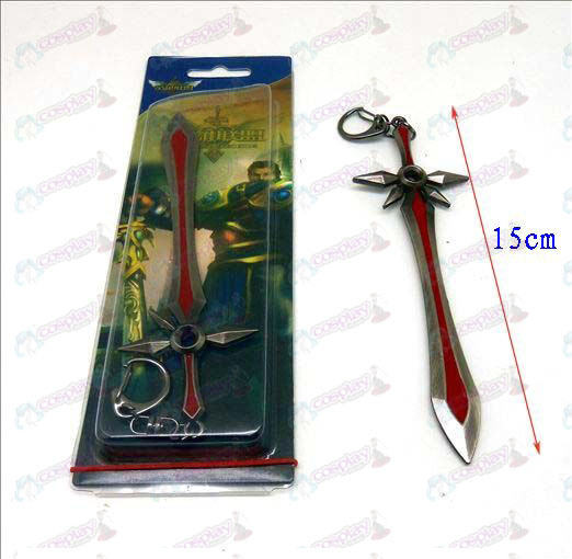 League of Legends Accessories knife buckle 1 (gun color)