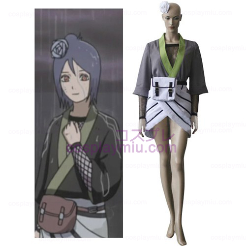Naruto Konan Women Cosplay Costume