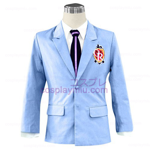 Ouran High School Host Club Jacket Halloween Cosplay Dräkter