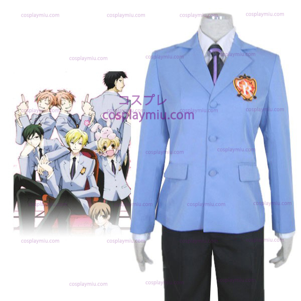 Ouran High School Host Club Halloween Cosplay Dräkter