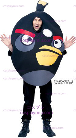 Angry Birds Black One Size Adult