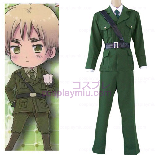 Axis Powers England Cosplay Kostym