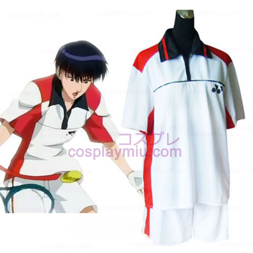 Prince Of Tennis Selections Team Sommar Uniform Cosplay Kostym