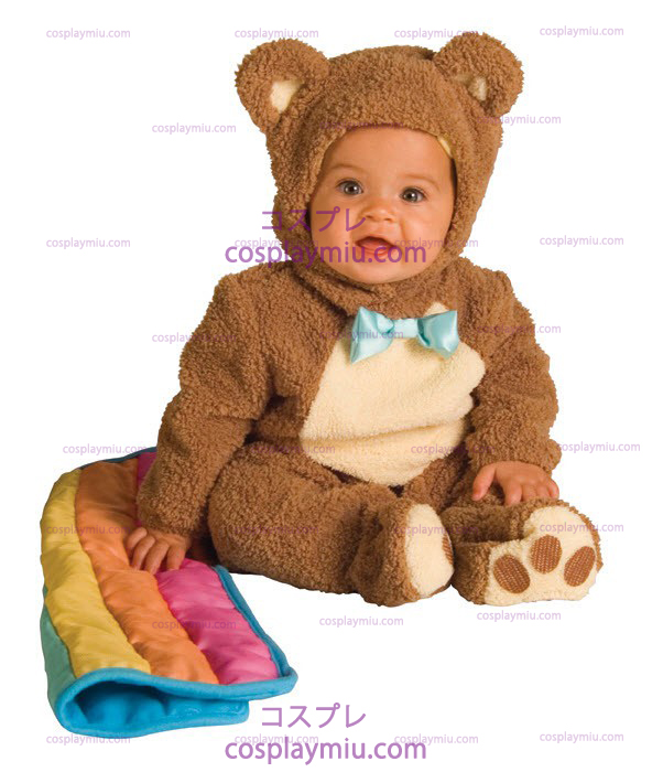 Teddybear Rainbow Infant Kostym