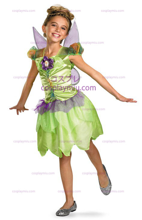 Tinkerbell Rainbow Child Kostymer