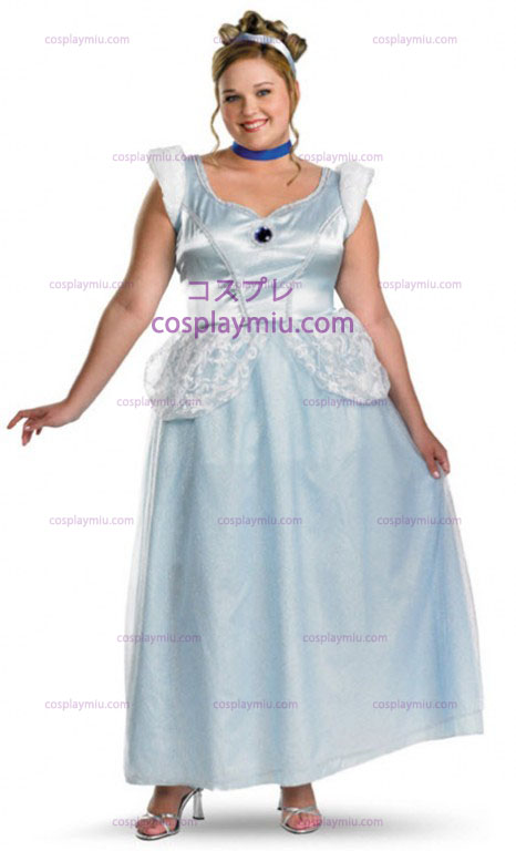 Plus Size Adult Cinderella Costume