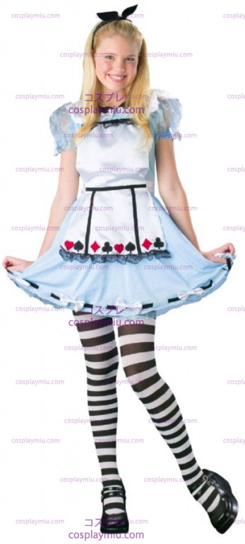 Alice Wonderland Teen Costume
