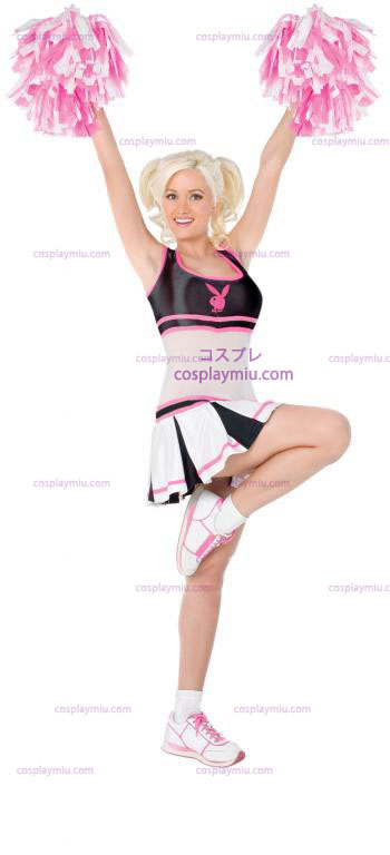Playboy Cheerleader Adult kostym
