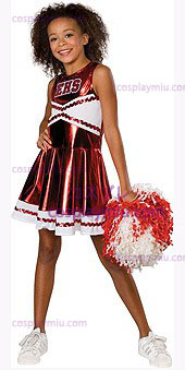 Billigt Cheerleader High School Musical Kostym