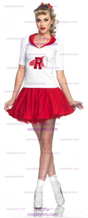 Grease Rydell Hög Cheerleader Adult kostym