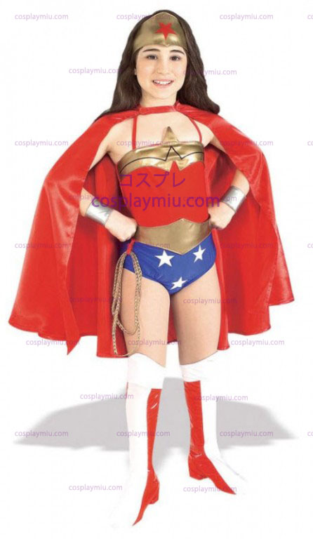 Deluxe Wonder Woman Child Costume