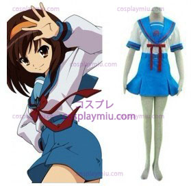Japanese School Uniform Suzumiya Haruhi Cosplay Costume