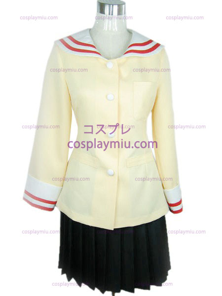 Hill high school girls uniform light Clannad