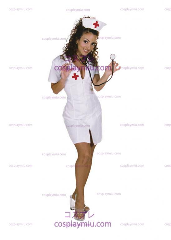 Hot Flash Nurse Adult kostym