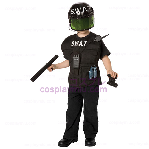S.W.A.T. Officer Child Kostymer Kit