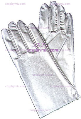 Gloves Reg Metallic, Silver