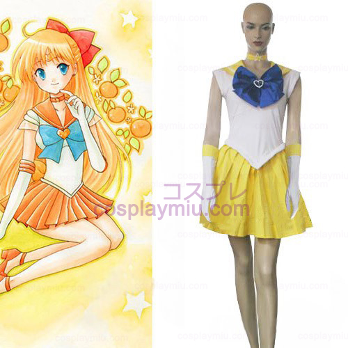 Sailor Moon Mina Aino Cosplay Costume