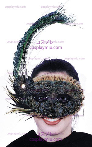 Mask, Feather 20-tals stil