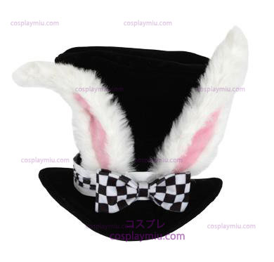 Alice In Wonderland White Rabbit Adult Hat