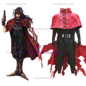 Final Fantasy Vii Vincent Valentine Men Cosplay Costume