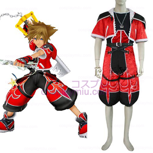 Kingdom Hearts 2 Sora Brave Form Cosplay Kostym