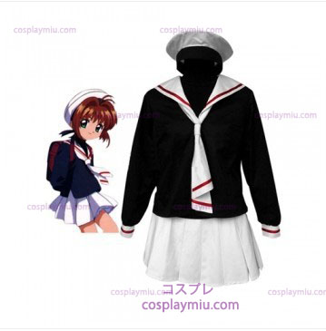 Cardcapture Sakura Tomoe Primary School Girls Cosplay Costume