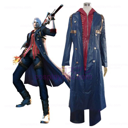 Devil May Cry 4 Nero Cosplay Kostym
