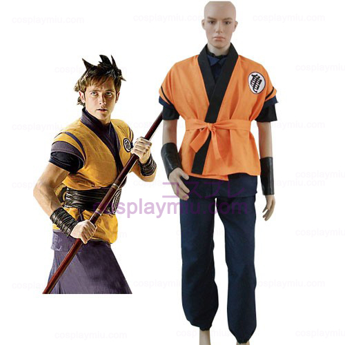 Dragon Ball Movie Goku Cosplay Kostym