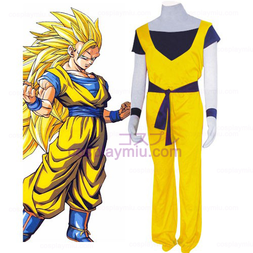 Dragon Ball Bomull Cosplay Kostym
