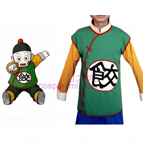 Dragon Ball Chiao-tzu Cosplay Kostym